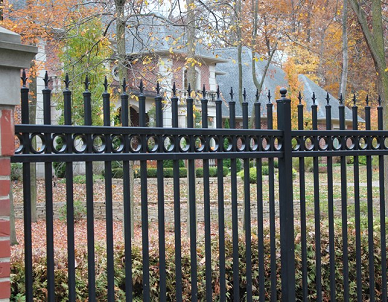 Alumi-guard Aluminum fencing is perfect for your planters since it will not rust.