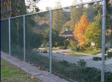 Small mesh school fencing was installed for Pasadena School District. Chain link mesh comes in non-climb mesh and various heights.